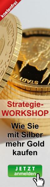 Die Gold-Siber-Ratio Strategie: Wie Sie mit Silber mehr Gold kaufen - ohne zusätzliches Investment.
